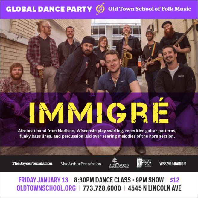 Immigre at Old Town School